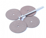 Cutoff Discs, Pack of 4, 24mm,  Plus Arbor. X1201